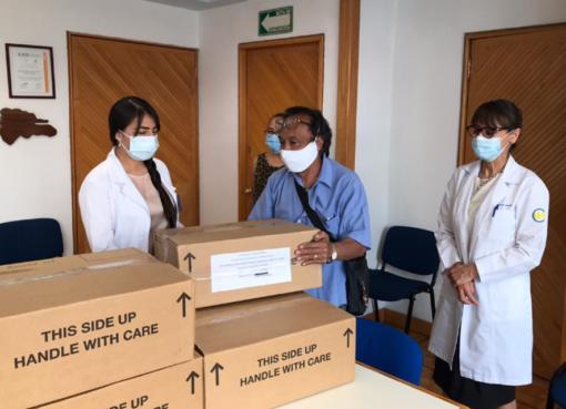 Agentes Aduanales donan 31 ventiladores a la FUNSALUD para salvar vidas del COVID-19